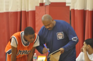 one on one coaching moment